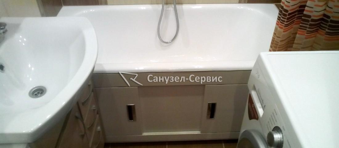ремонт ванной 1,5 на 1,35 м