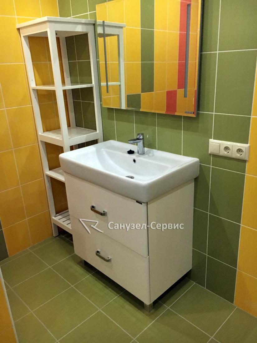 Ремонт ванной под ключ в ЖК Снегири